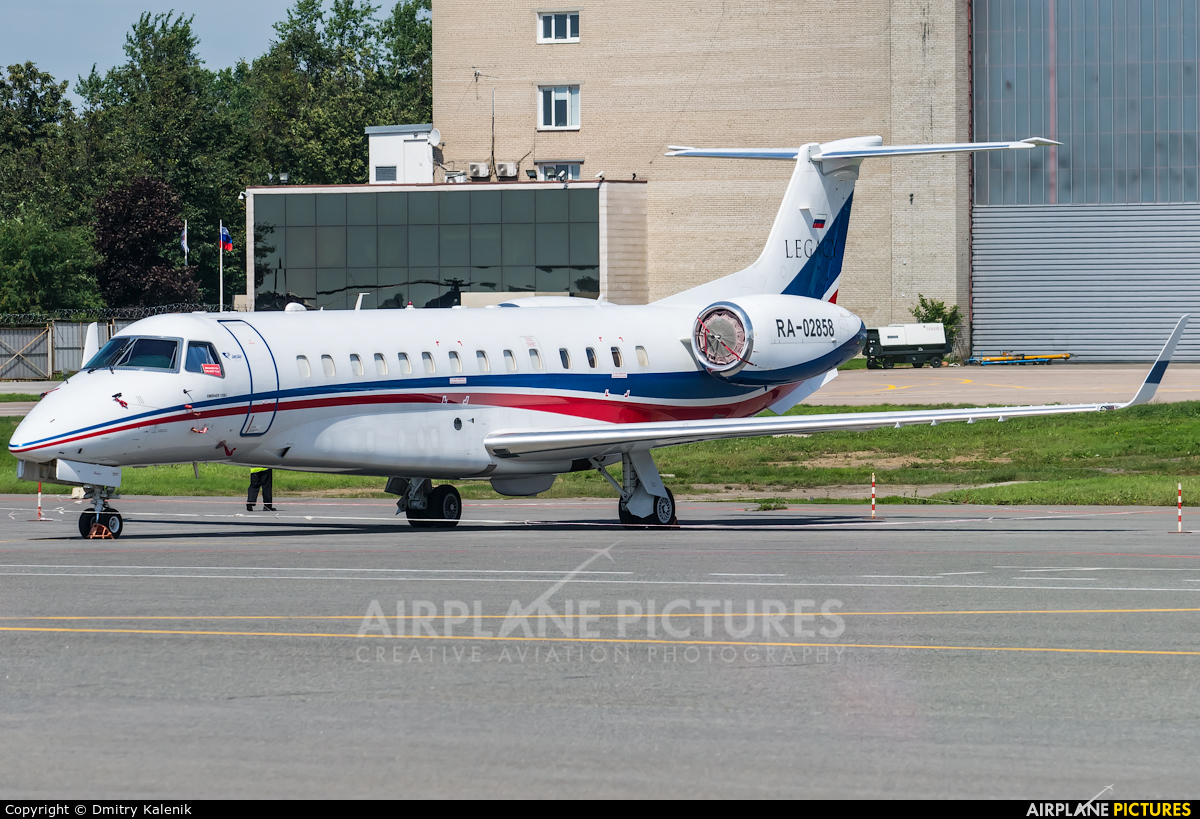 Jet Air Group (Russia) RA-02858 aircraft at Moscow - Sheremetyevo