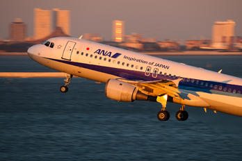 JA8395 - ANA - All Nippon Airways Airbus A320