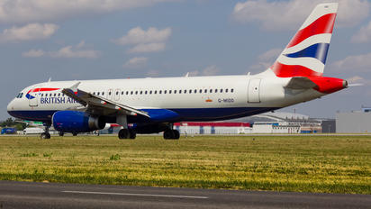 G-MIDO - British Airways Airbus A320
