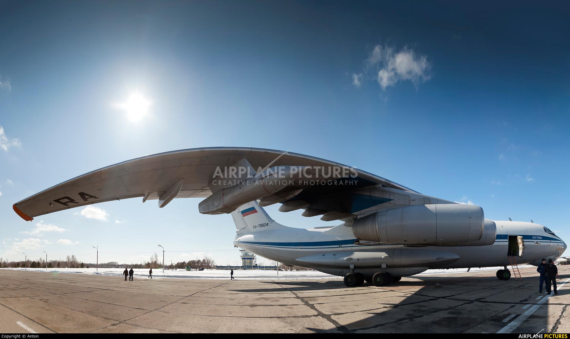 Russia - Air Force RA-78824 aircraft at Chelyabinsk Shagol