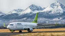 YL-BBX - Air Baltic Boeing 737-300 aircraft
