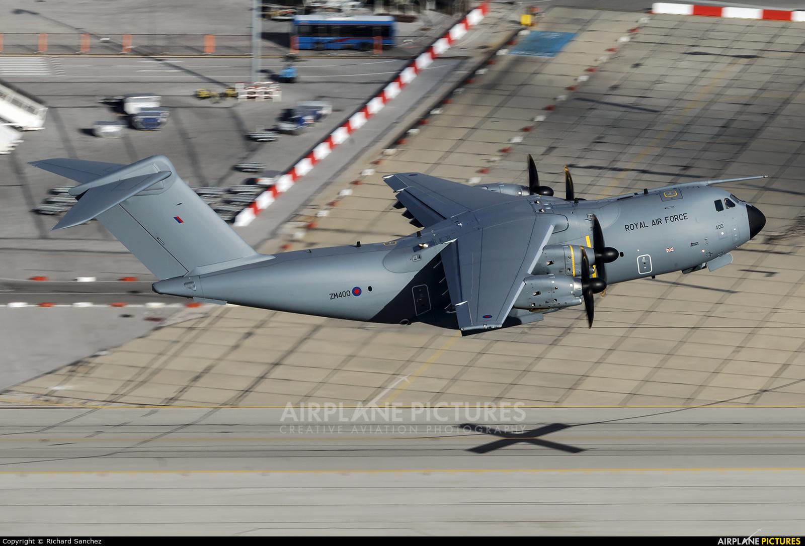 Royal Air Force ZM400 aircraft at Gibraltar