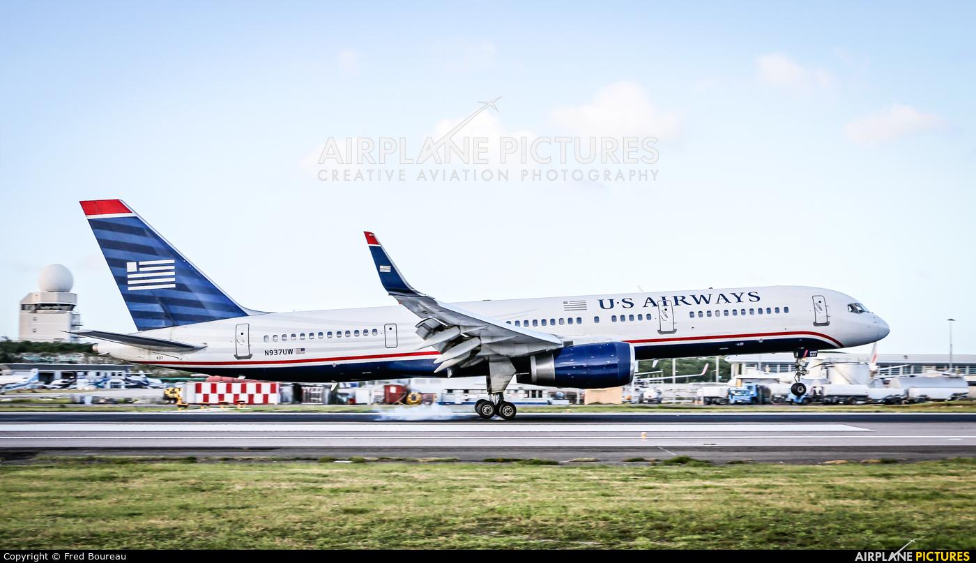 US Airways N937UW aircraft at Sint Maarten - Princess Juliana Intl