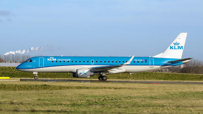 PH-EXD - KLM Cityhopper Embraer ERJ-190 (190-100)