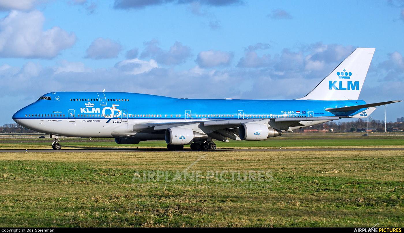 KLM PH-BFH aircraft at Amsterdam - Schiphol