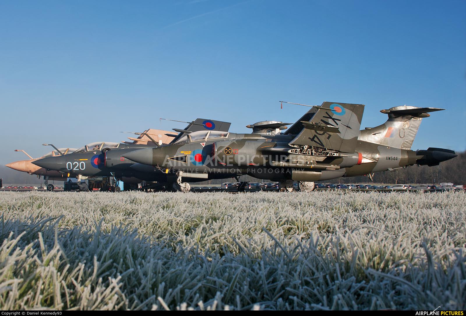 Royal Air Force XW544 aircraft at Bruntingthorpe