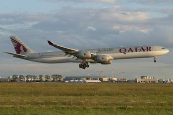 A7-AGD - Qatar Airways Airbus A340-600