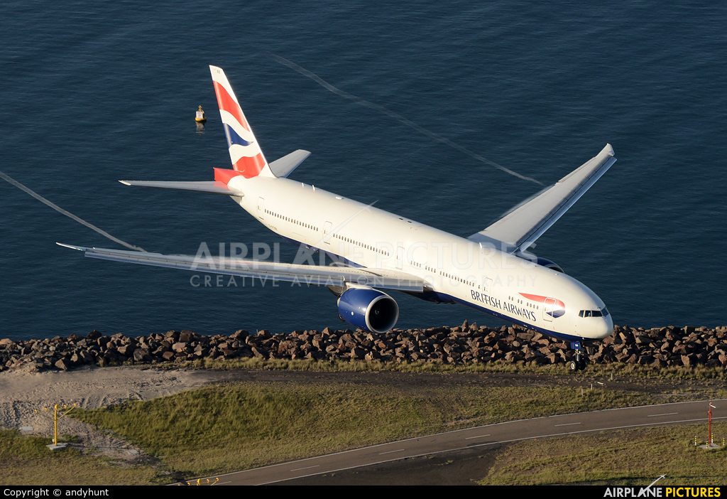 British Airways G-STBB aircraft at Sydney - Kingsford Smith Intl, NSW