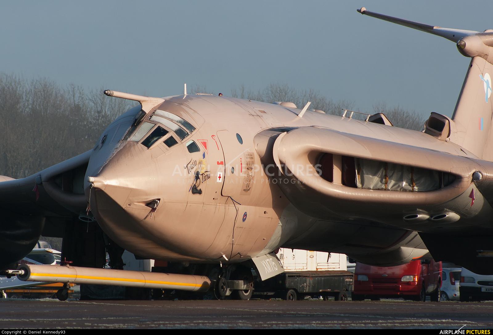 Royal Air Force XM715 aircraft at Bruntingthorpe
