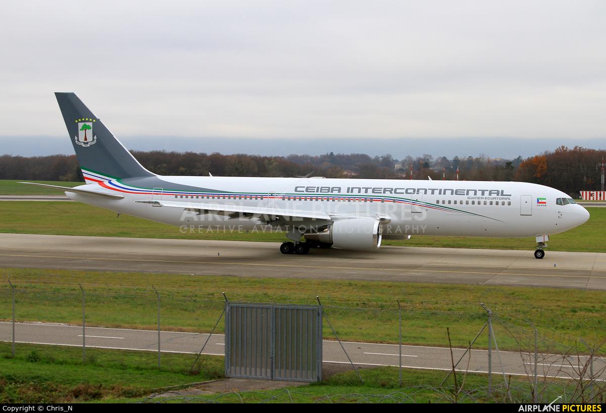 Ceiba Intercontinental 3C-LLU aircraft at Geneva Intl