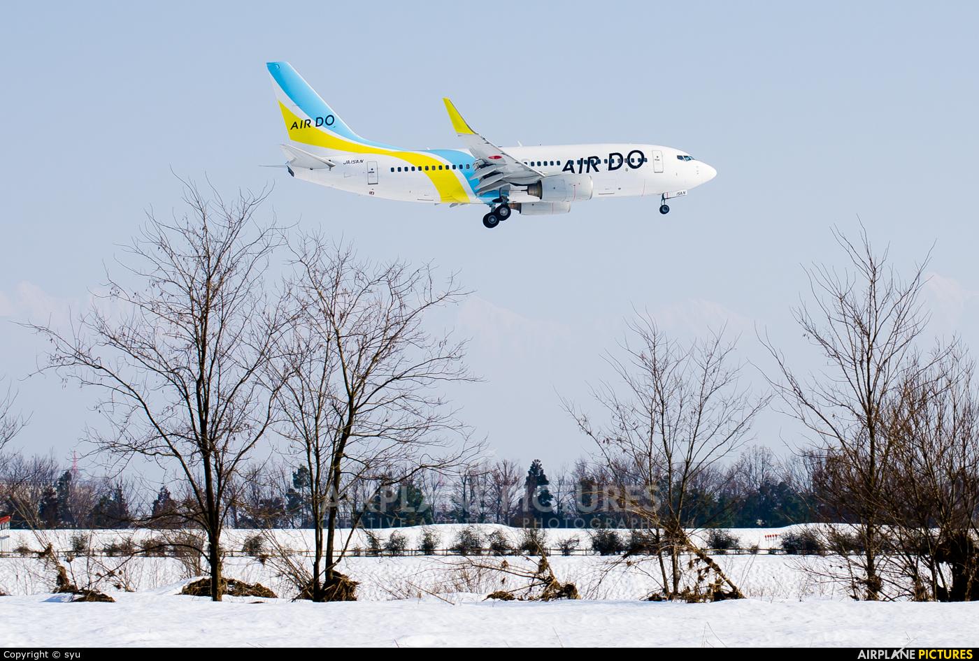Air Do - Hokkaido International Airlines JA15AN aircraft at Toyama