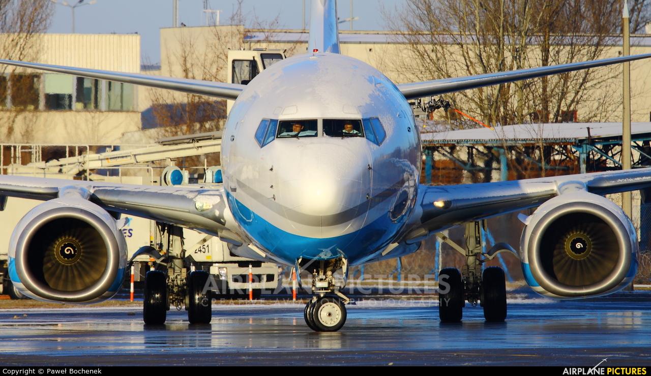 Enter Air SP-ENY aircraft at Warsaw - Frederic Chopin