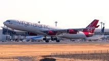 G-VELD - Virgin Atlantic Airbus A340-300 aircraft