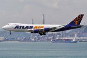 N852GT - Atlas Air Boeing 747-8F aircraft