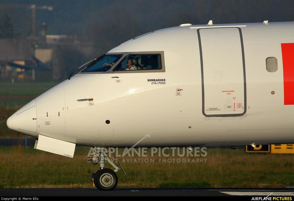 Air France - Hop! F-GRZF aircraft at Ljubljana - Brnik