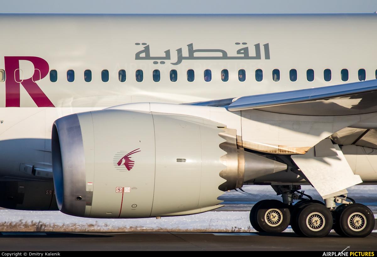 Qatar Airways A7-BCG aircraft at Moscow - Domodedovo