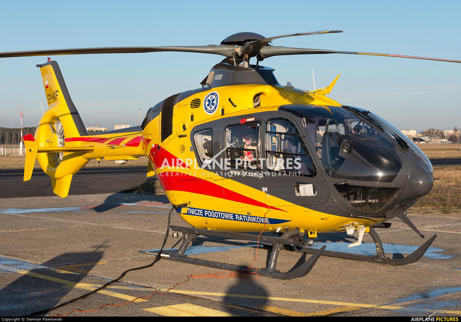 Polish Medical Air Rescue - Lotnicze Pogotowie Ratunkowe SP-HXF aircraft at Bydgoszcz - Szwederowo