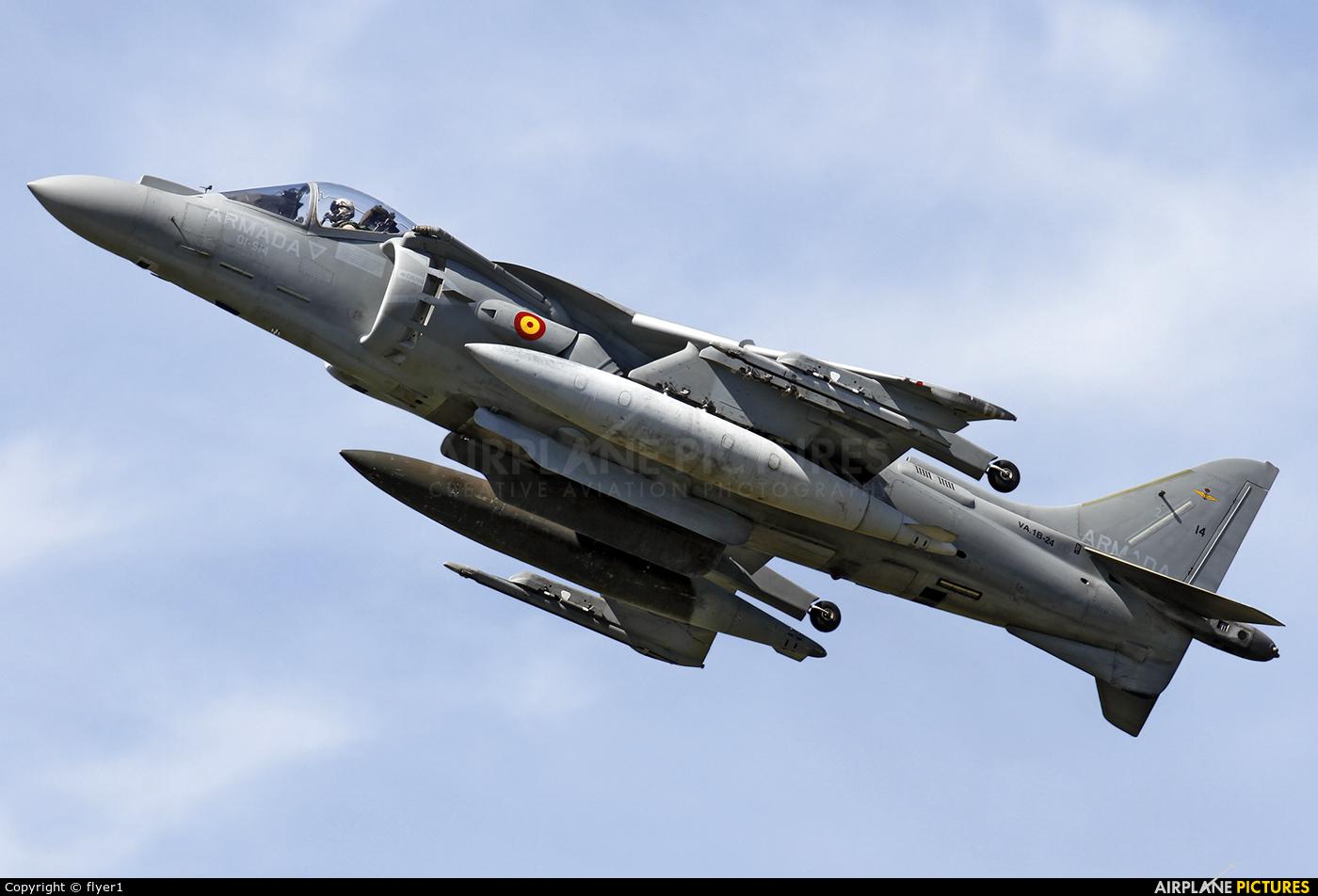 Spain - Navy VA.1B-24 aircraft at Farnborough