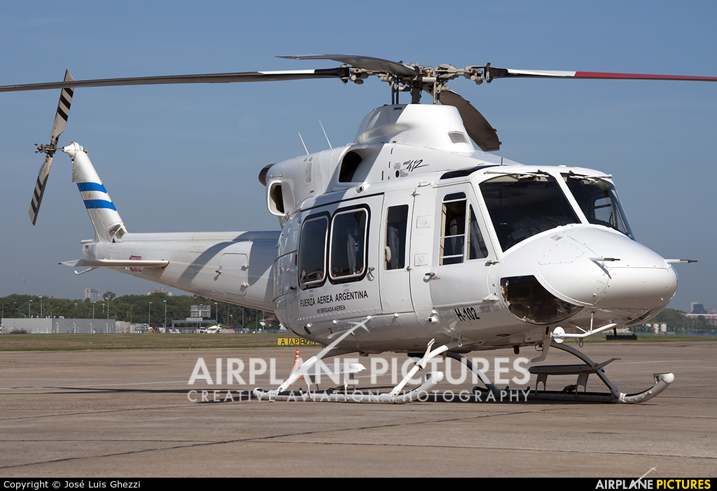 Argentina - Air Force H-102 aircraft at Buenos Aires - Jorge Newbery