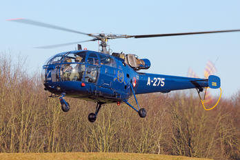 A-275 - Netherlands - Air Force Sud Aviation SA-316 Alouette III