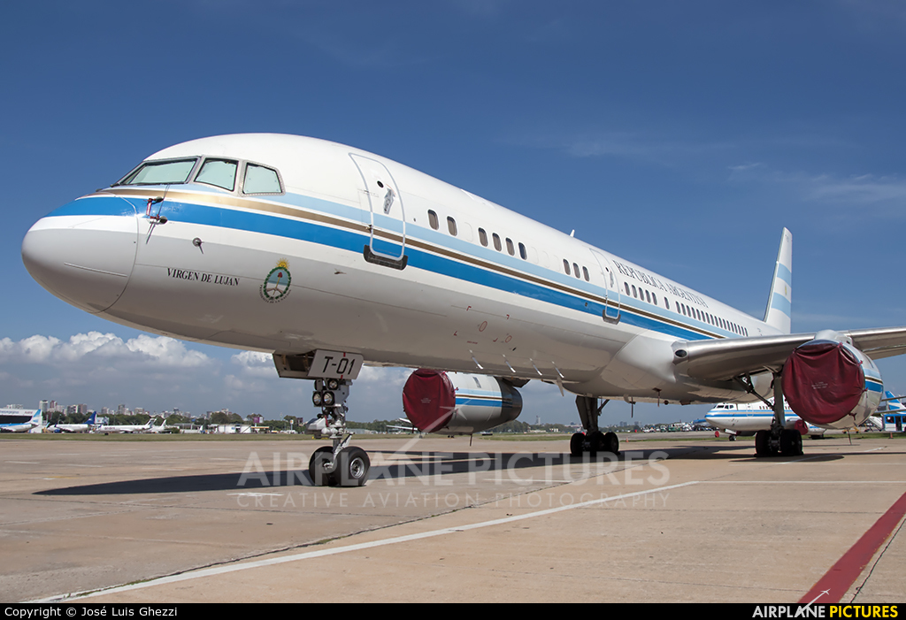 Argentina - Government T-01 aircraft at Buenos Aires - Jorge Newbery