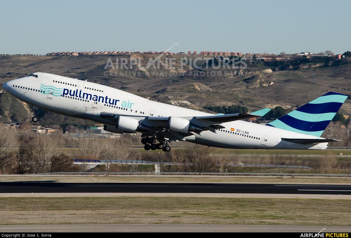 Pullmantur Air EC-LNA aircraft at Madrid - Barajas