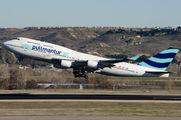 EC-LNA - Pullmantur Air Boeing 747-400 aircraft