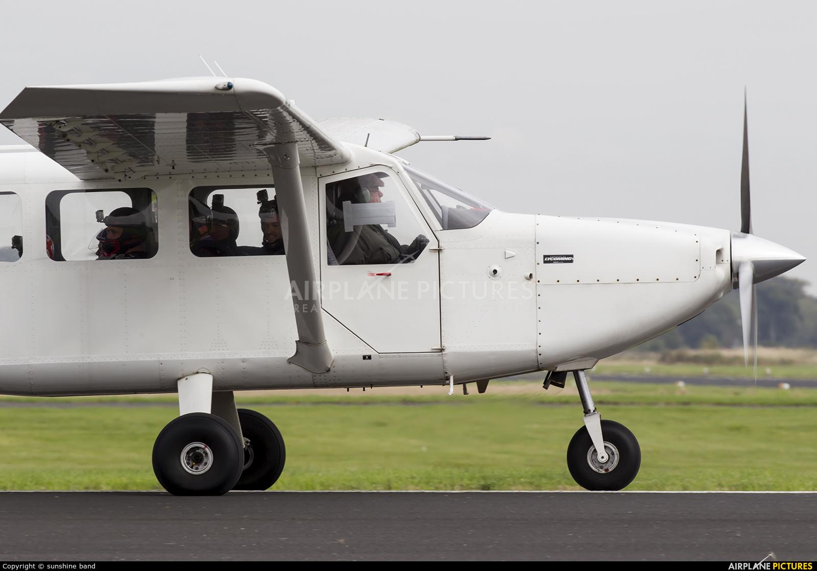 Private G-VANA aircraft at Church Fenton