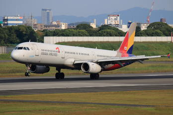 HL7729 - Asiana Airlines Airbus A321