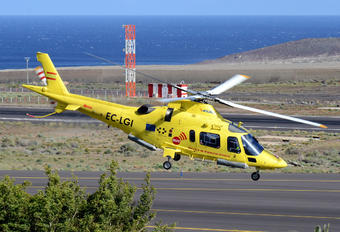 EC-LGI - INAER - Gobierno de Canarias Agusta / Agusta-Bell A 109E Power