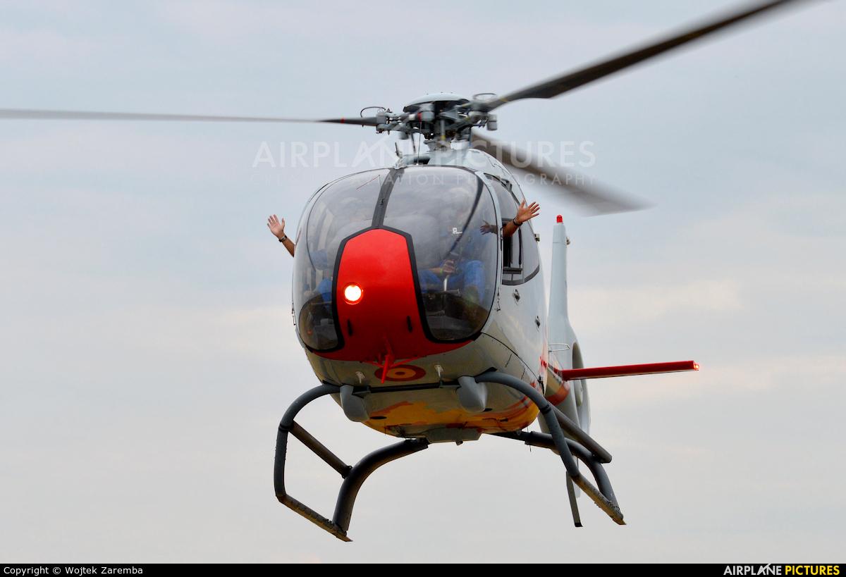 Spain - Air Force: Patrulla ASPA HE.25-11 aircraft at Radom - Sadków