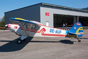 OE-AIF - Private Piper L-18 Super Cub