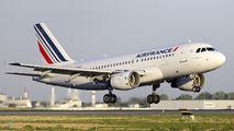 F-GRHS - Air France Airbus A319 aircraft