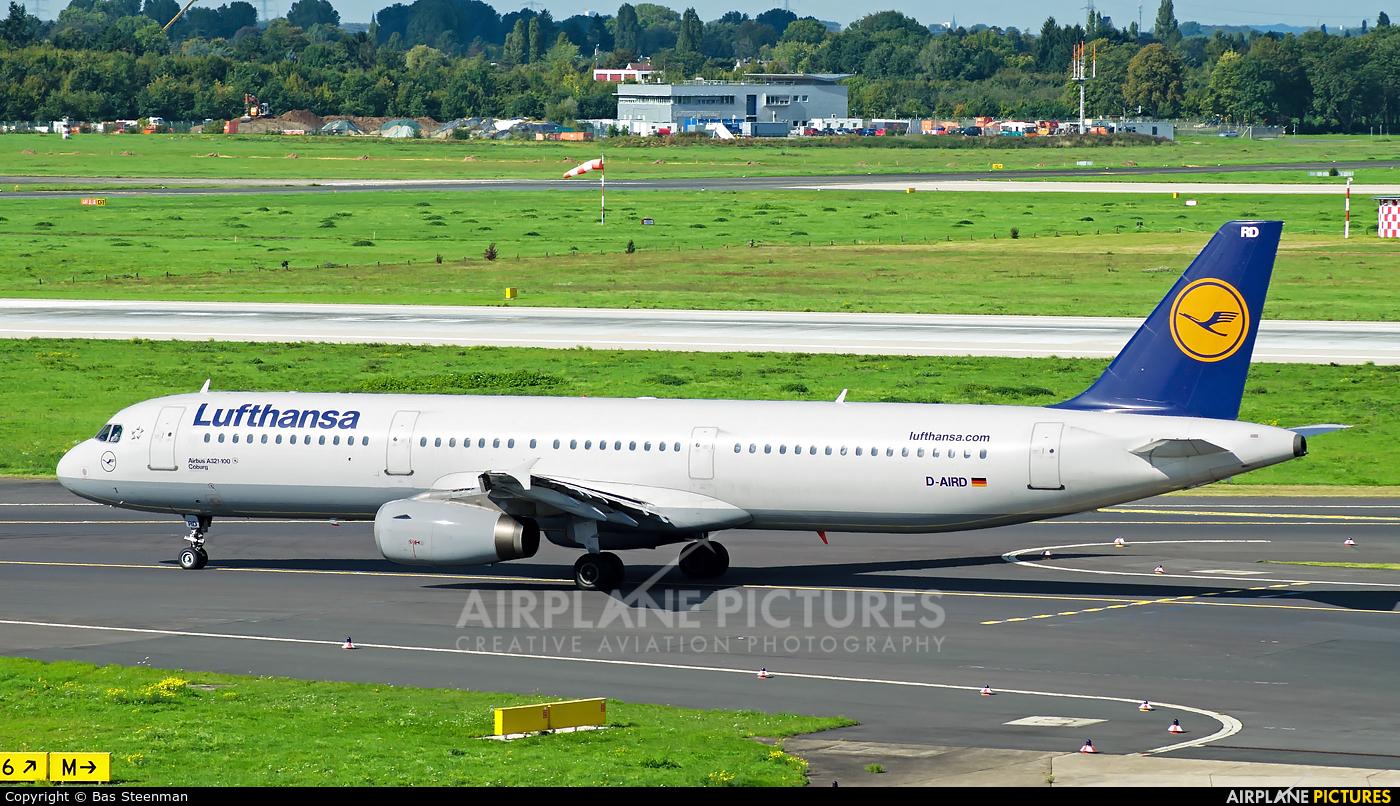 Lufthansa D-AIRD aircraft at Düsseldorf
