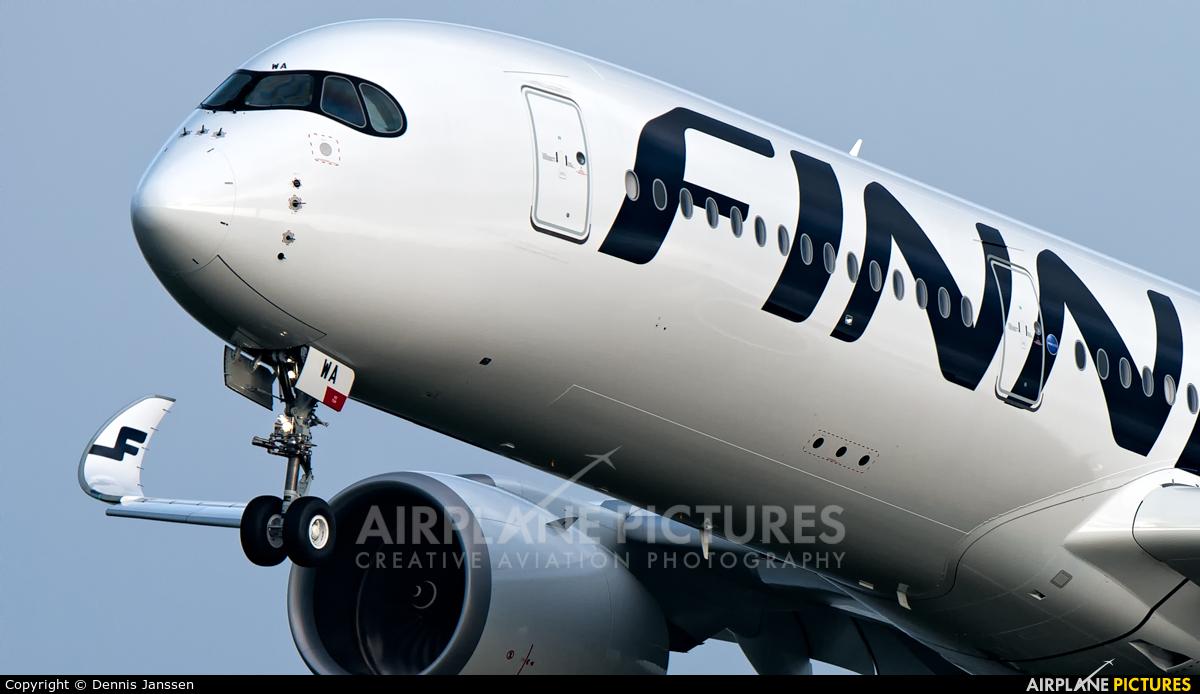Finnair OH-LWA aircraft at Amsterdam - Schiphol