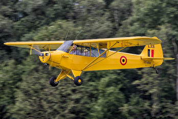 OO-VIW - Private Piper PA-18 Super Cub