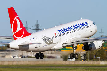 TC-JLM - Turkish Airlines Airbus A319