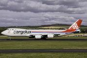 LX-VCJ - Cargolux Boeing 747-8F aircraft