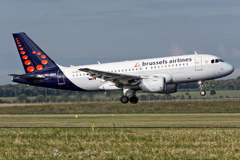 OO-SSA - Brussels Airlines Airbus A319