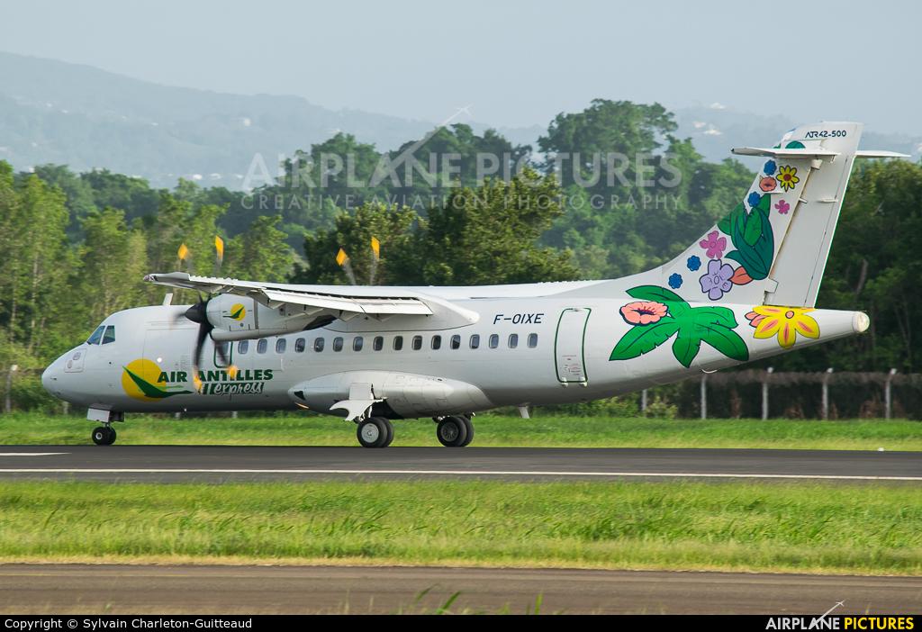 Air Antilles Express F-OIXE aircraft at Martinique - Aimé Césaire
