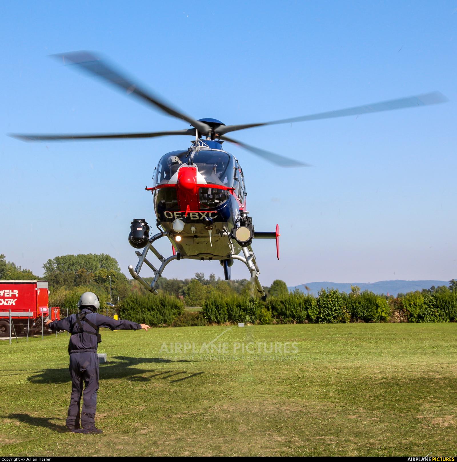 Austria - Police OE-BXC aircraft at Vienna - Schwechat