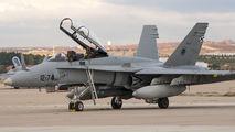 CE.15-11 - Spain - Air Force McDonnell Douglas EF-18B Hornet aircraft