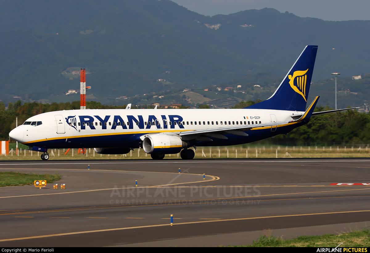 Ryanair EI-DCP aircraft at Bergamo - Orio al Serio