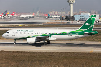 YI-ARB - Iraqi Airways Airbus A320