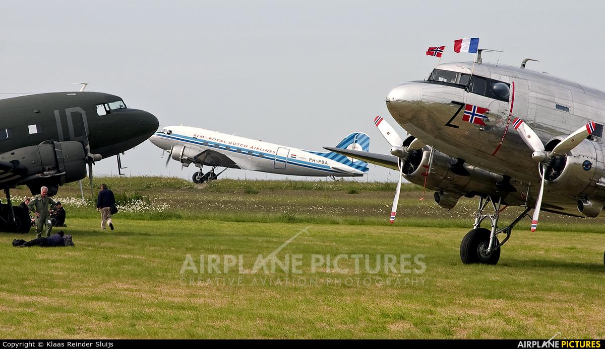 DDA Classic Airlines PH-PBA aircraft at Cherbourg-Maupertus