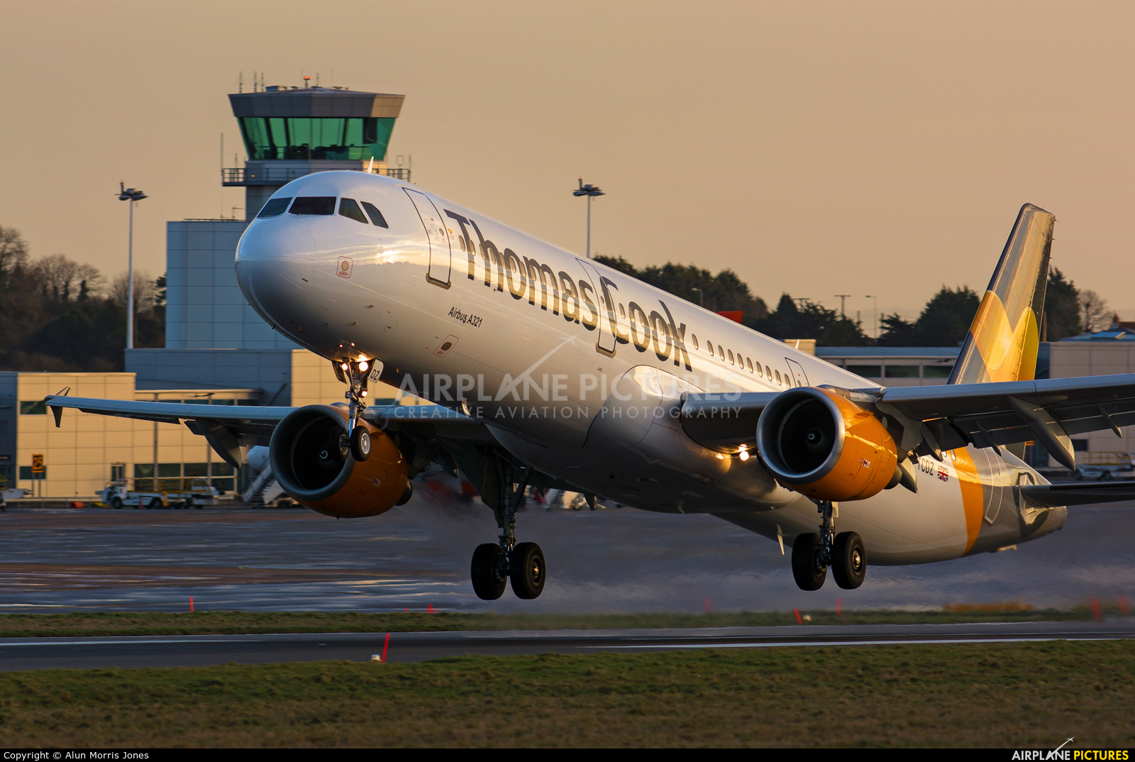 Thomas Cook G-TCDZ aircraft at Bristol - Lulsgate