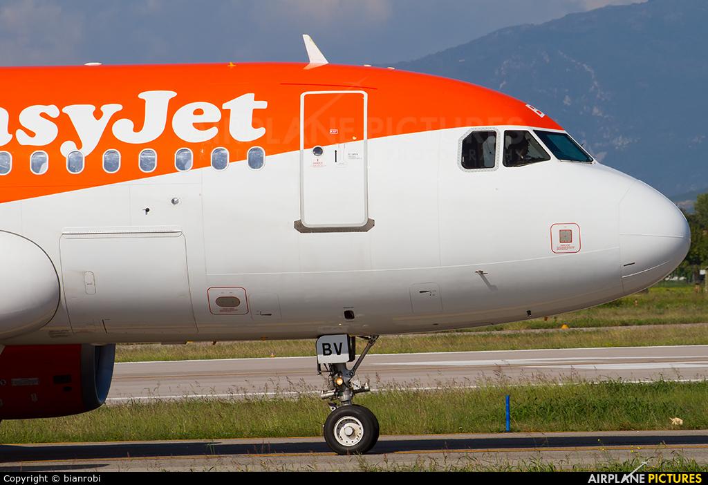 easyJet G-EZBV aircraft at Verona - Villafranca