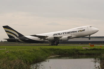 N758SA - Southern Air Transport Boeing 747-200F