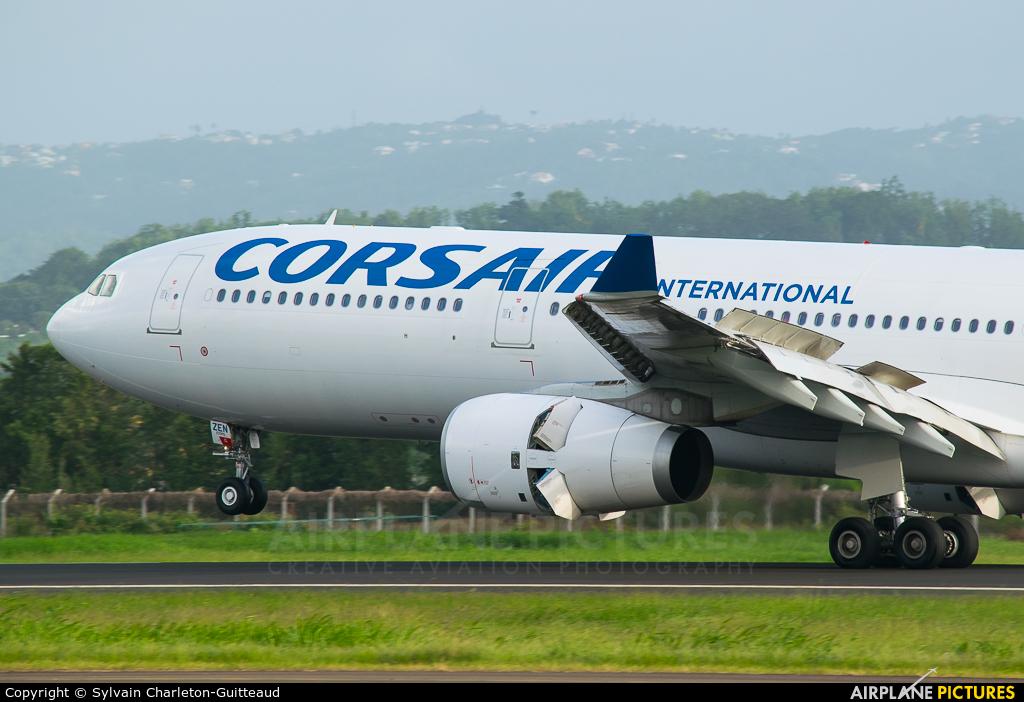 Corsair / Corsair Intl F-HZEN aircraft at Martinique - Aimé Césaire