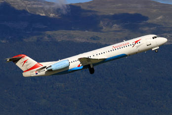 OE-LVB - Austrian Airlines/Arrows/Tyrolean Fokker 100